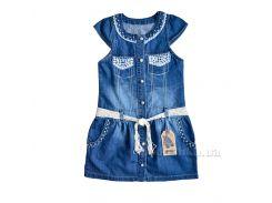 Платье Overdo Kids 4268 синий 110