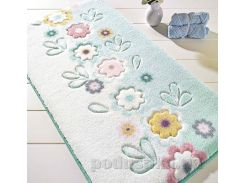 Коврик для ванной Confetti April Turquoise 80х140 см