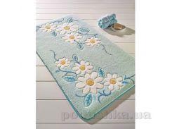 Коврик для ванной Confetti Margherita Turquoise голубой 80х140 см
