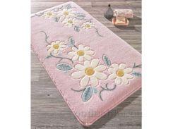 Коврик для ванной Confetti Margherita Pink розовый 80х140 см