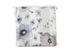 Подушка для стула с мережкой Прованс flowers 50421 40х40 см