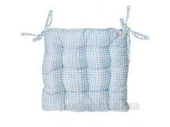 Подушка для стула Прованс Andre Tan голубая клетка 51150 40х40 см
