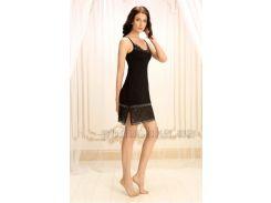 Ночная сорочка Violet delux НС-М-70 черный люкс S