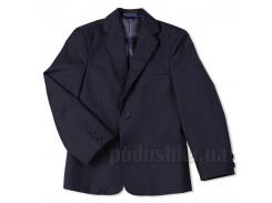 Пиджак с прорезными карманами Юность 316 синий 32 (Р-134, ОГ-68, ОТ-66)