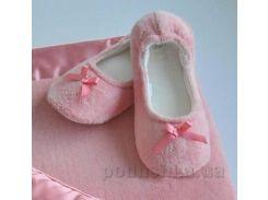 Тапочки-балетки Eke home SIS 36-37 ярко-розовый