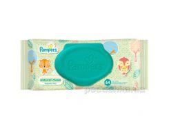 Детские влажные салфетки Pampers Natural Clean, 64 шт