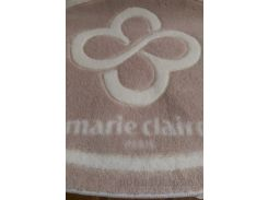 Коврик в ванную комнату Marie Claire Sally бежевый 66х107 см