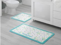 Набор ковриков в ванную комнату Marie Claire Nelly Aqua