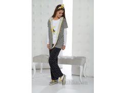 Женская пижама Arya Печатная 3 Пр. 10051 XL
