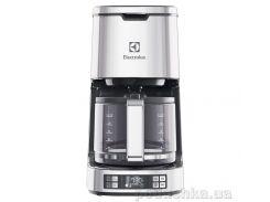 Кофеварка капельная Electrolux EKF7800 серебристая