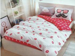 Подростковое постельное белье сатин Alltex 210005 Полуторный комплект