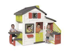 Дом для друзей с чердаком и летней кухней Smoby 810200