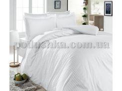 Постельное белье First choice white S-053 Двуспальный евро комплект