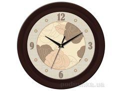 Часы настенные ЮТА Fashion 350Х350Х47мм 11-FBr