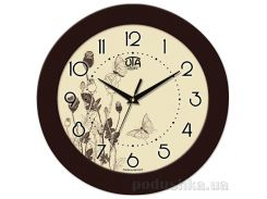 Часы настенные ЮТА Fashion 350Х350Х47мм 12-FBr