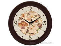 Часы настенные ЮТА Fashion 350Х350Х47мм 18-FBr