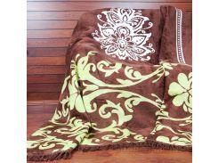 Плед Lotus Saray коричневый 200х220 см