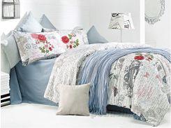 Постельное белье Issimo Home La Rosa Двуспальный евро комплект