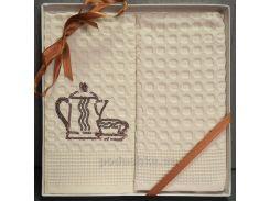 Набор полотенец ISSIMO кухня Чайник с чашкой 50х70 см - 2 шт