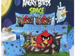 Постельное белье La Scala KI-063 Angry Birds Подростковый комплект