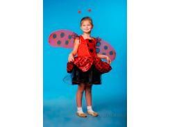 Костюм Божьей коровки для девочек Украина карнавальная KD72