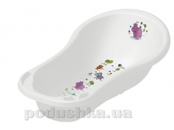Детская ванночка Prima-Baby Hippo 100 см белая