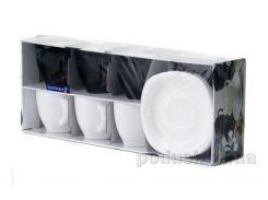 Чайный сервиз Luminarc Carine White&Black D2371