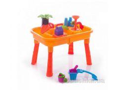 Столик-песочница Bambi M 0833 U/R Городок с мельницей