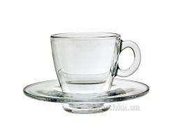 Набор чашек и блюдец для кофе Pasabahce Aqua 95756