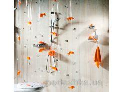 Шторка для ванной Spirella Goldfish pvc 180х200 см