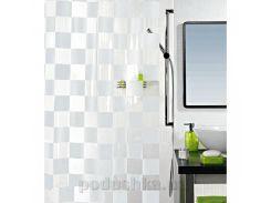 Шторка для ванной Spirella Matto pvc 180х200 см цвет черный