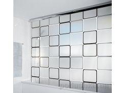 Шторка для ванной Spirella Rolo frame pvc 140х240 см