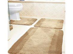 Коврик для ванной Spirella Balance бежевый размер 55х55