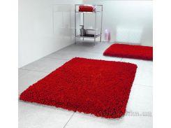 Коврик для ванной Spirella Highland красный размер 55х55