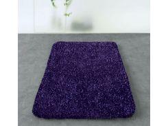 Коврик для ванной Spirella Mix фиолетовый размер 55х65