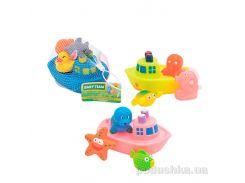 Набор игрушек для ванны Корабль друзей Baby Team AKT-9000