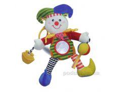 Игрушка-подвеска Biba Toys Счастливый клоун 032MC