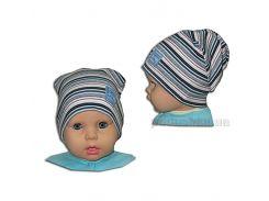 Детская шапка полоски - 2 Габби 00667 50-52