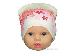 Детская шапочка для девочки Парадиз Габби 00662 50-52