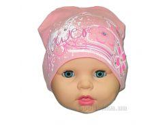 Детская шапочка для девочки Flower Габби 00659 46 - 48