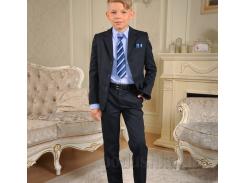 Школьный костюм Милана КДО-03106 синий 30 (Р-122, ОГ-60, ОТ-57)