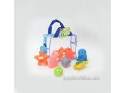 Набор игрушек для ванны Подводный мир Baby Team AKT-9005