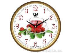 Часы настенные ЮТА Классика 300Х300Х45мм 01-G-69