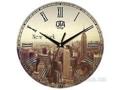 Часы настенные ЮТА Vintage 330Х330Х27мм 011-VT