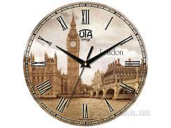Часы настенные ЮТА Vintage 330Х330Х27мм 012-VT