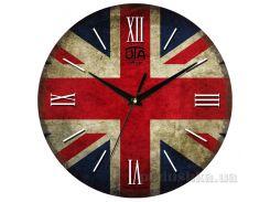 Часы настенные ЮТА Vintage 330Х330Х27мм 013-VT