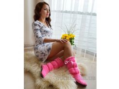 Домашние тапочки Slivki Pink 36-37