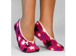 Домашние тапочки балетки Slivki Stars Pink 38-39