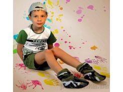 Детские домашние тапочки Slivki Military 24-25