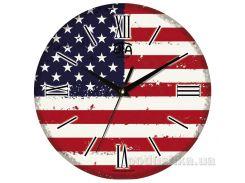 Часы настенные ЮТА Vintage 330Х330Х27мм 021-VT